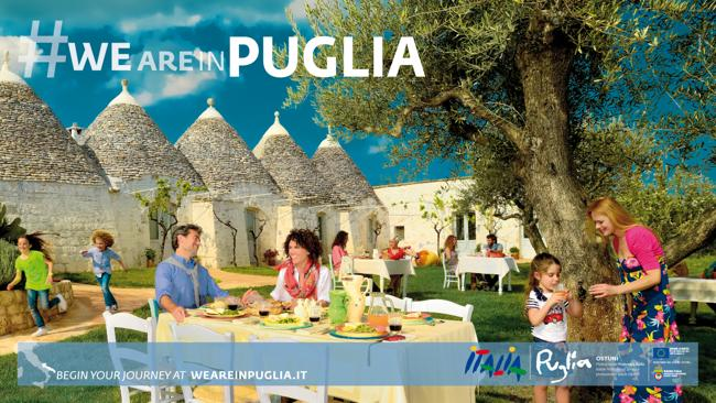#we are in Puglia menzionata come campagna di successo al Travel Centres Ireland Conference