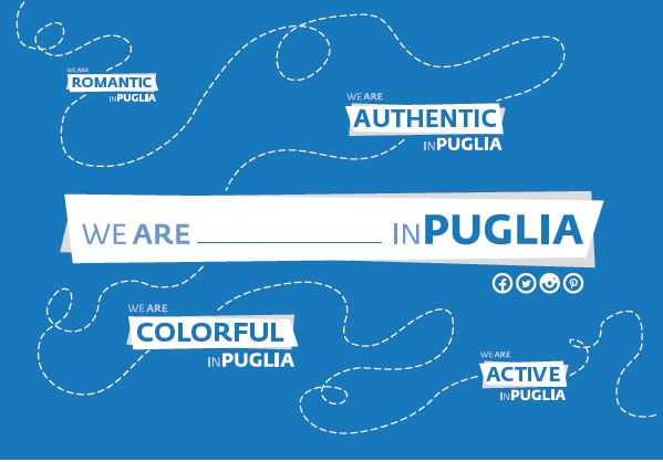Your Puglia in one word. Grande successo per la cartolina BIT